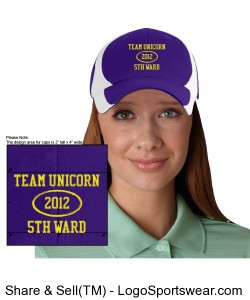 Team Unicorn Hat Design Zoom